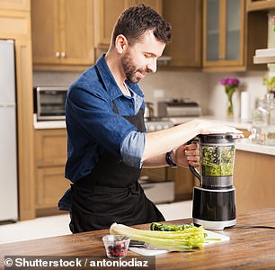Alice said a food processor can chop, slice and dice ingredients in a flash, making meal prepping easier and faster than ever (stock image)