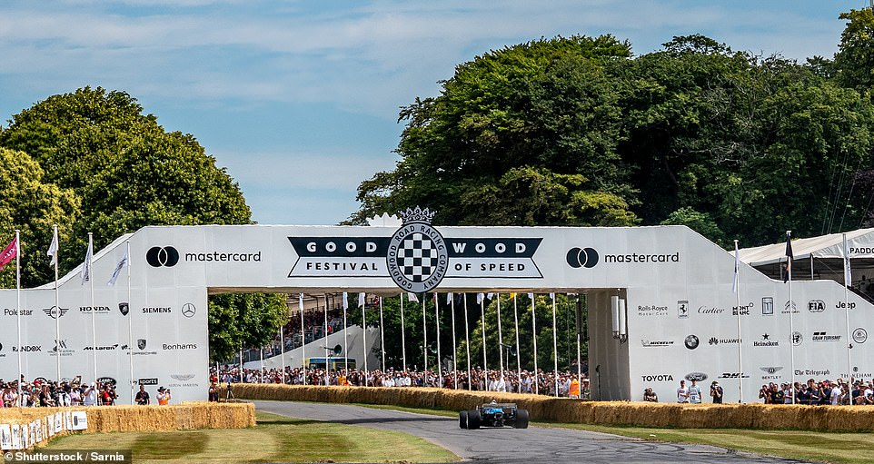 Goodwood goes online with a feast of classic and supercar races and star guests
