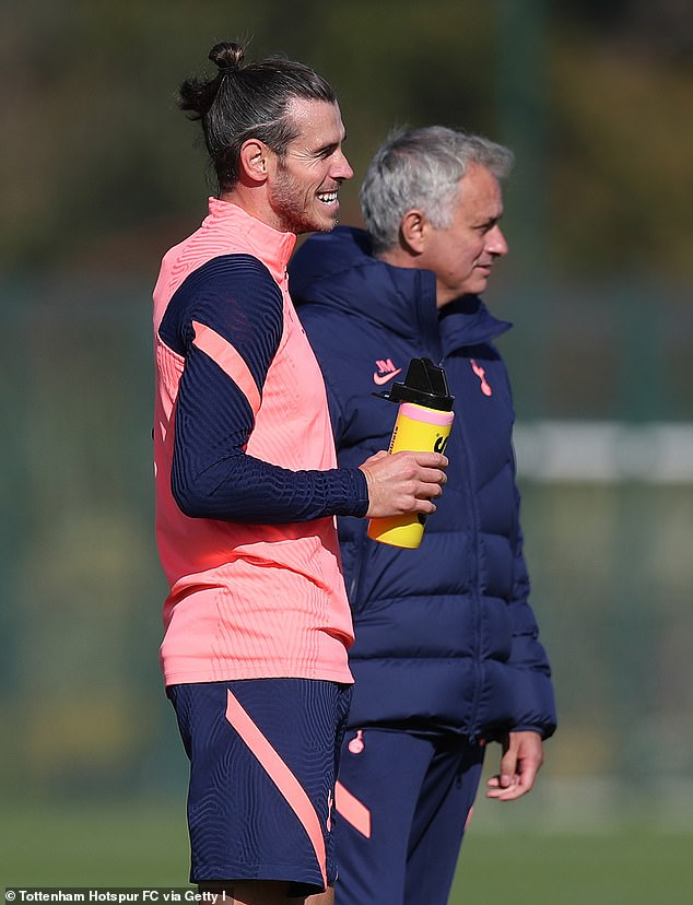 Mourinho refused to rule out giving the Welshman a start against rivals West Ham on Sunday