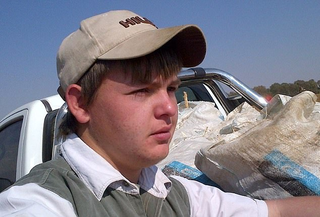 Brendin Horner, agricultural director, 21, murdered on a farm near the town of Paul Roux in the Free State