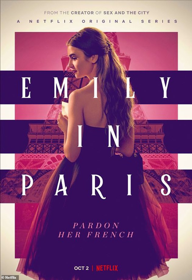 Cast: Emily in Paris also stars Ashley Park, Samuel Arnold, Philippine Leroy-Beaulieu and Bruno Gourey