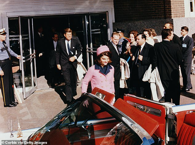 The white 1963 Lincoln Continental was the last car used to safely chauffeur the President before his death
