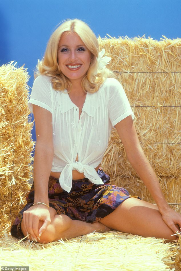 She was a bright light in the 70s: The star is best known for her TV series Three's Company; seen here in 1979