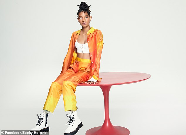 Feeling shunned: Willow Smithrevealed Tuesday on her family's Facebook Watch talk show Red Table Talk that she and brother Jaden felt 'shunned' by the Black community over their defiance of gender norms