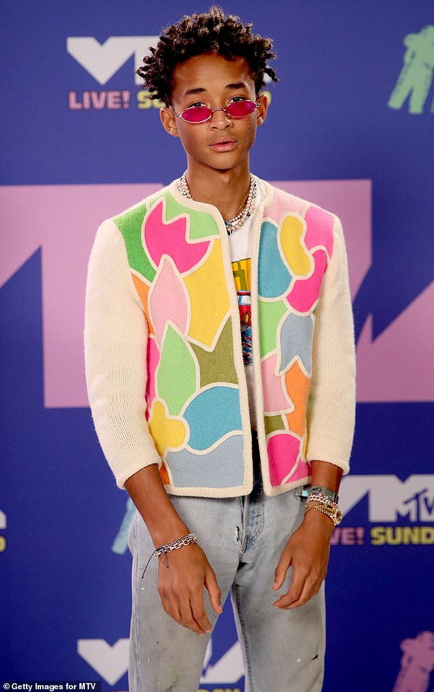 "Too weird: the teenager opened up: `` Specifically with the African American community, I kinda felt like Jaden and I were being shunned a bit. ""We will not be proud of them because they are too different.  They are too weird""'(photo from August 2020)"