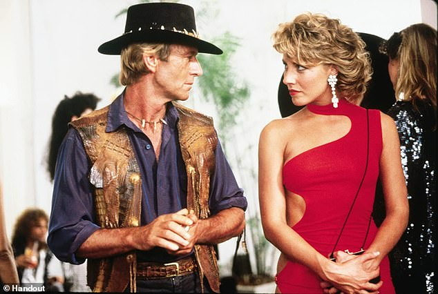 Marriage: Paul and Linda married in 1990 and later had son Chance but after 23 years, she filed for divorce from the actor in 2013. Pictured Paul and Linda in Crocodile Dundee