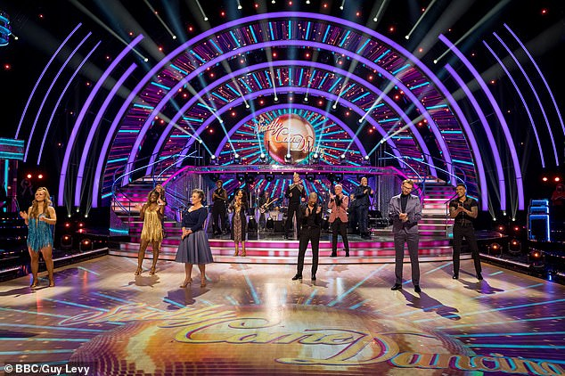 It's back!Strictly Come Dancing have given fans their first glimpse at their socially-distanced launch show, as the twelve celebrities finally discover their professional partners