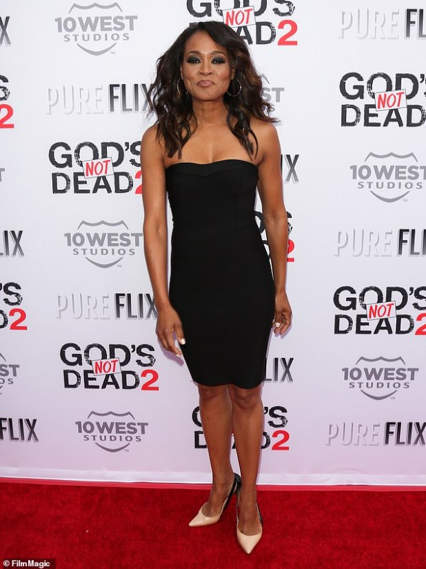 Relieving: Robin Givens reveals news of upcoming biopic of her abusive ex-husband Mike Tyson (, about), reopening old wounds;  Picture of Robin in 2016