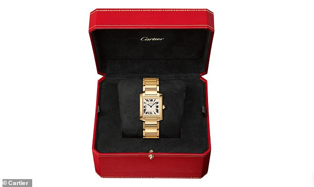 The watch had been gifted to Diana by her father on her 21st birthday