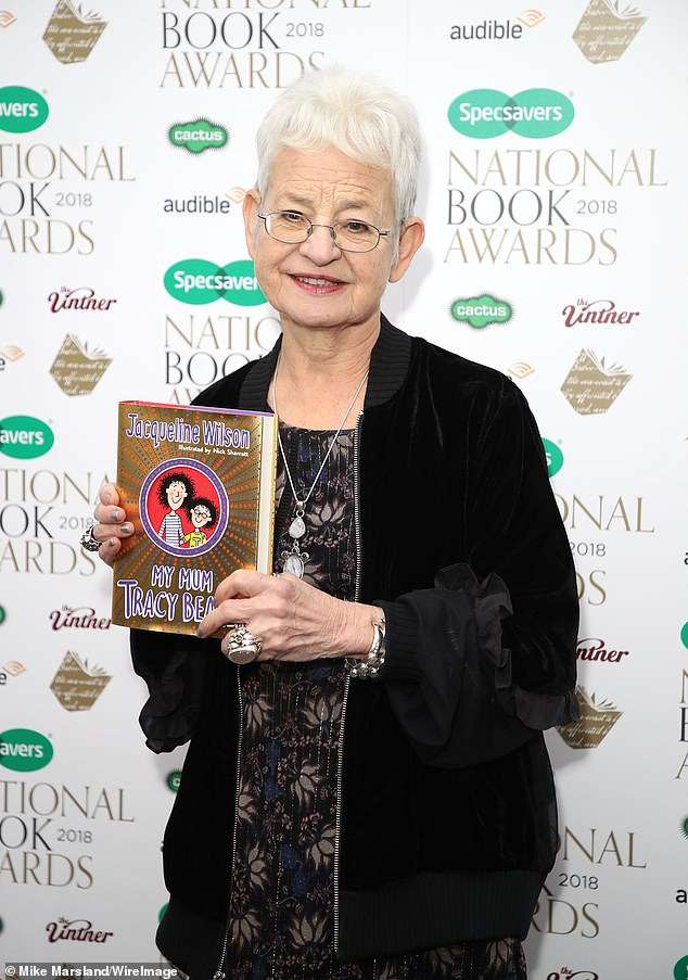 Reprise: The sequel was published in 2018 by author Jacqueline Wilson (pictured) which sees the heroine struggling to make ends meet on a 'tough' housing estate in London
