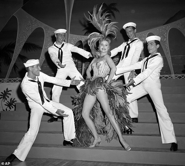 Fleming flourished as a singer and dancer during the first appearance of her nightclub career at the New Tropicana Hotel in Las Vegas in 1957