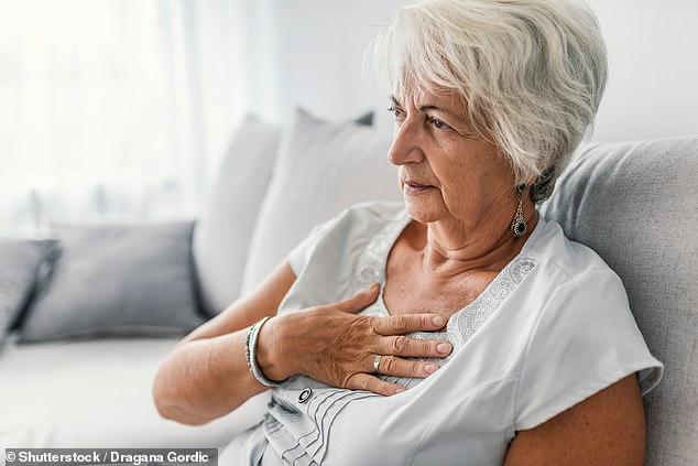 Chest pain is always a reason to speak to a doctor promptly. In the first instance, I would advise a telephone conversation with a GP or cardiologist, writes Dr Ellie Cannon (file photo)