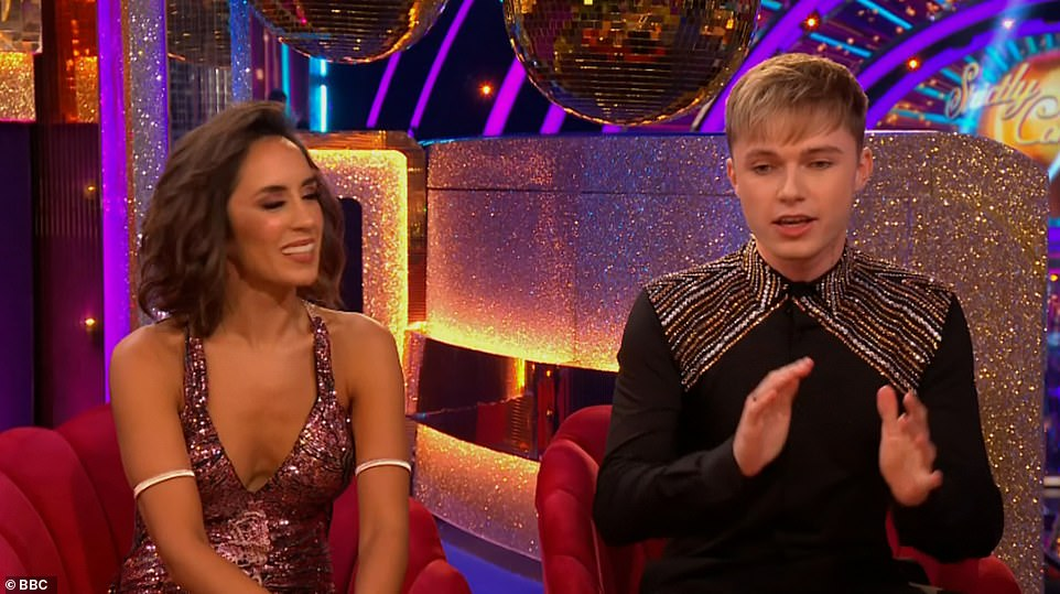Sweet:Hrvy, 21, and Janette Manrara, 36, were announced as a pairing on the show