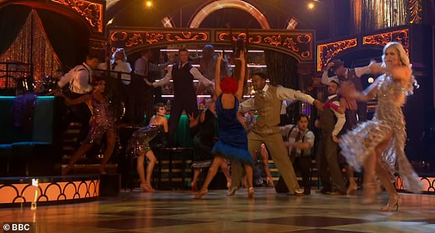 Adoration: Strictly Come Dancing returned to screens on Friday evening and viewers emotionally celebrated the dancing competition as it 'restored normality' amid the pandemic