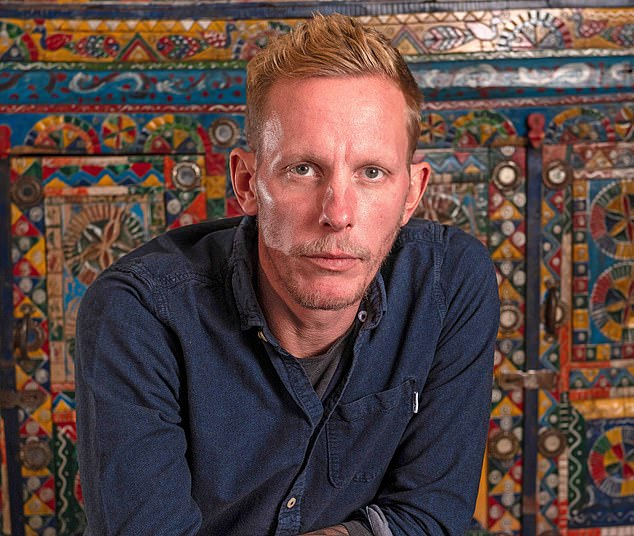 Sipping a pint of beer while talking passionately about politics, Laurence Fox (pictured) reminds me of someone I can't quite put my finger on