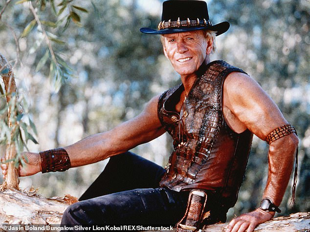 Iconic:Paul went on to star in the movie Crocodile Dundee as well as other titles including Crocodile Dundee II, Lightning HJack, Almost an Angel and Charlie & Boots