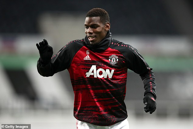 Reports also claim United could use Paul Pogba (above) as a makeweight in the Valverde deal