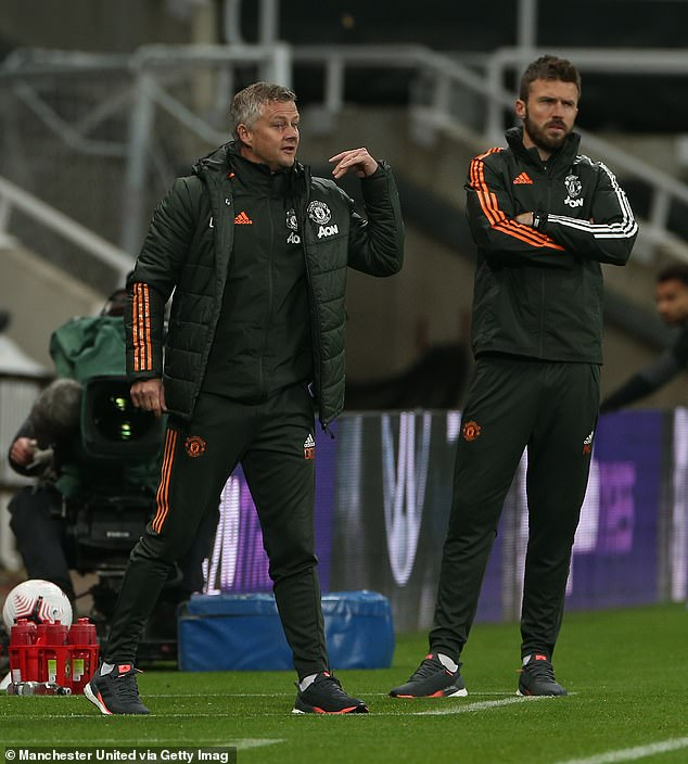Manchester United boss Ole Gunnar Solskjaer was delighted with the fluency on display