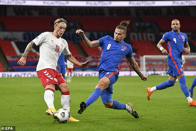 Phillips made his England debut last month and featured regularly during the recent break