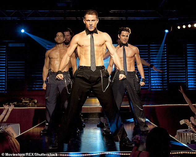 Here come the boys! Magic Mike Live will premiere to Australian audiences on Thursday 17 December at Sydney's Entertainment Quarter, Moore Park. Channing Tatum, who is the show's creator and director, is pictured centre