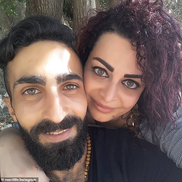 Husband and wife Jomana Najem and Rojer Achallak (pictured) opened their Adam and Weave shop for business in Hughesdale on Saturday morning