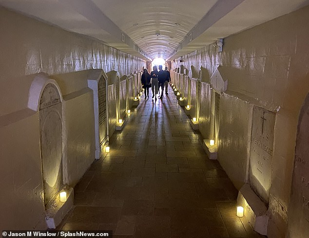 The Basilica of St. Patrick's Old Cathedral's catacombs and crypts (pictured) were first opened to the public in 2017