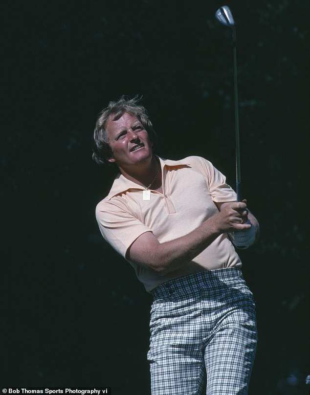 The 70-year-old (pictured during the US Masters at Augusta in 1980) has made healthy lifestyle changes in an effort to fight the disease