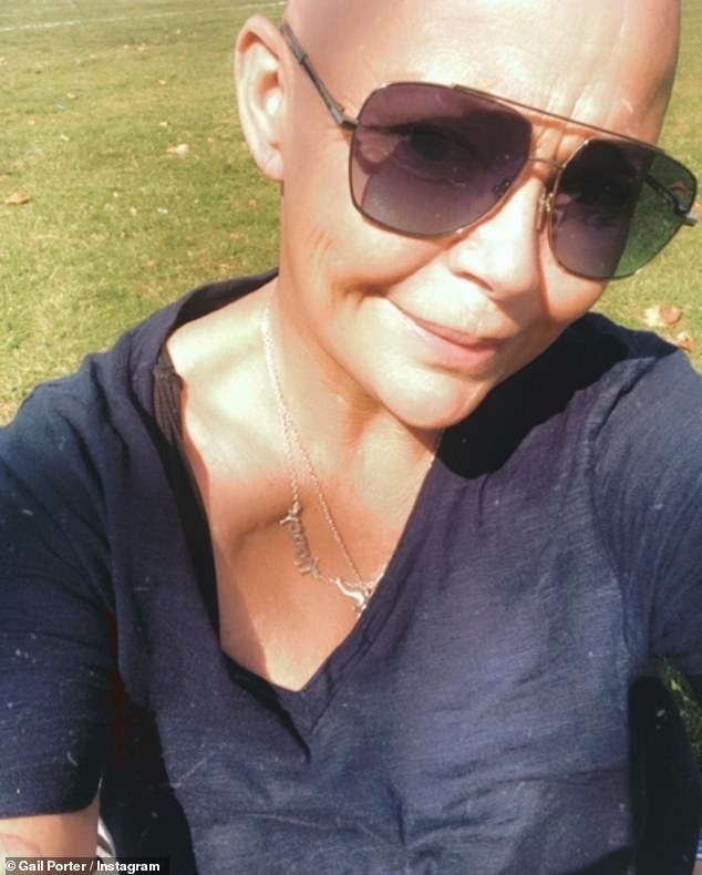 Solo:Gail Porter, 49,has admitted she's given up on dating as she no longer feels confident and has accepted the idea of growing old alone.