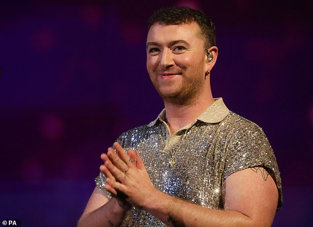 Opening up: Sam Smith has spoken in more detail about the fact that they are non-binary