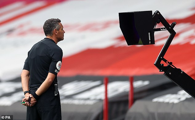 Andre Marriner gave the penalty after consulting with the Video Assistant Referee