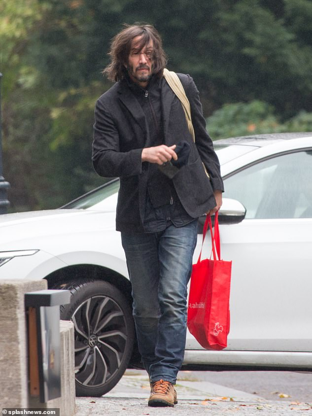 Back at work: Keanu returned to work on Matrix 4 after the novel coronavirus pandemic halted production in March