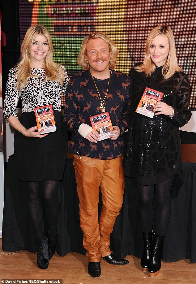Revamp: Emily and Laura are taking over from Holly Willoughby, who quit Celebrity Juice in May after 12 years on the show (pictured with Keith and Fearne Cotton in 2012)