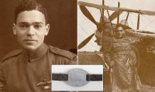 ID tag of Britain's first black fighter pilot, Jamaican immigrant who flew biplane in World War and survived being shot in the spine in dogfight with Germans, goes up for sale