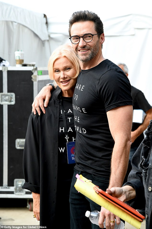 Actor Hugh Jackman (pictured with Deborra-lee Furness) pocket $10million from the sale RM Williams but will remain involved in iconic Australian brand as an ambassador