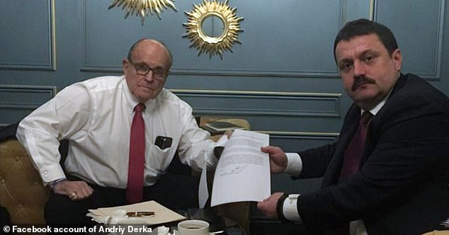 Giuliani has not been shy about discussing his foreign contacts, including with Derkach