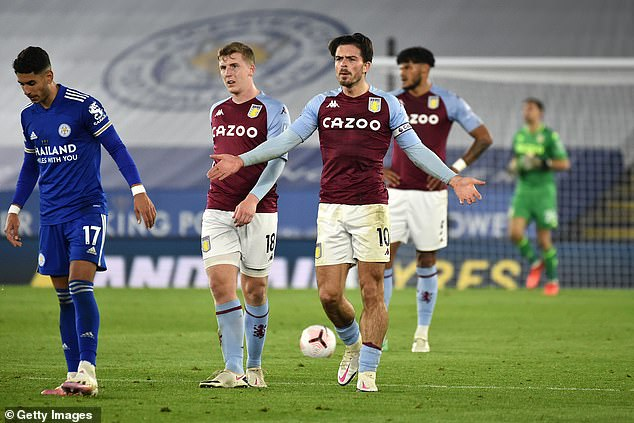 Villa humiliated Liverpool with a 7-2 win in the last game but were frustrated at the King Power