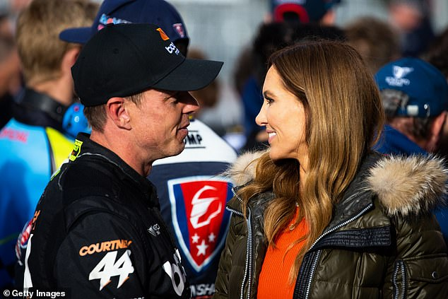 They're not hiding anymore! Former cricket WAG Kyly Clarke and Supercars driver James Courtney have made their debut as a couple at the Bathurst 1000 race in Bathurst, NSW