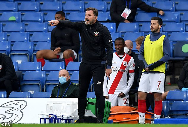 Ralph Hasenhuttl is happy with the way his Southampton side are progressing under him