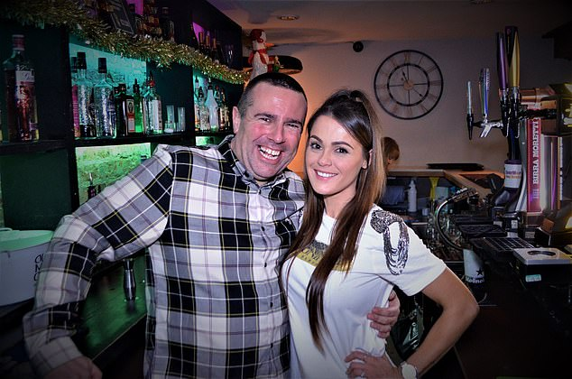 Mark and Amy Hanson, owners of Edge Venue, said they had just two customers all evening – and Saturday is the only day they say is worth opening anyway