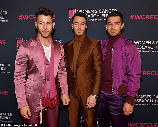 Rock the vote! Joe and his brothers Kevin and Nick Jonas have actively encouraged people to vote on their social media platforms and pressure sensitive adhesives