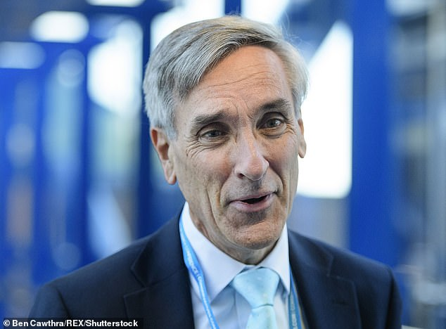 Mr Llywd was passed documents marked 'from a friend' which enabled him to ask embarrassing questions of then Welsh Secretary and Eurosceptic John Redwood (pictured)