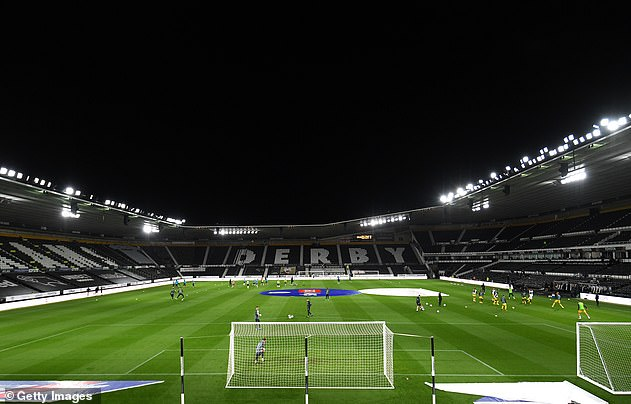 Derby confirmed they are aware of the situation in a statement in the early hours of Sunday