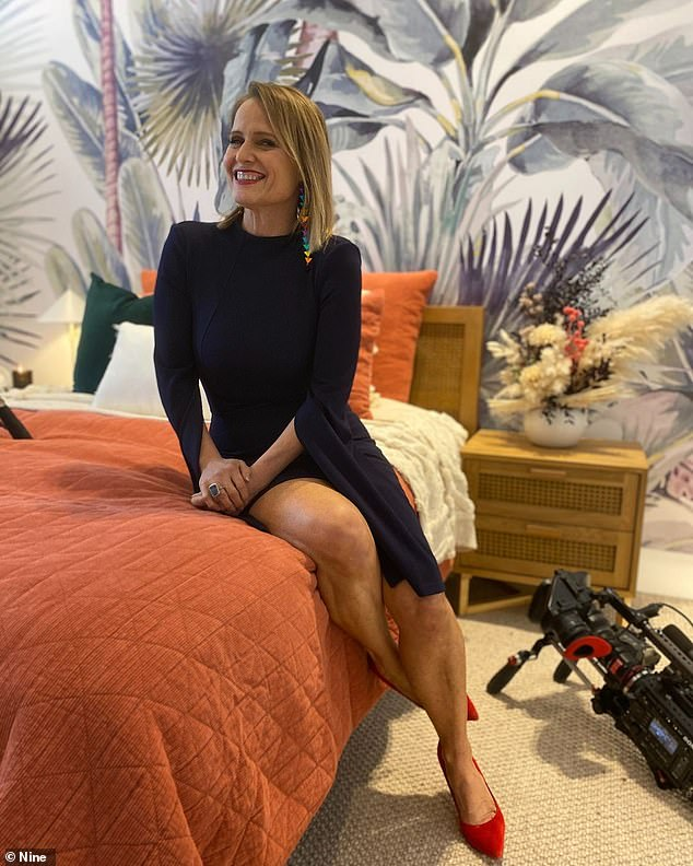 From The Block to the boardroom: Shaynna is currently in Sydney filming Celebrity Apprentice where she is taking part as a contestant, after completing two weeks in quarantine
