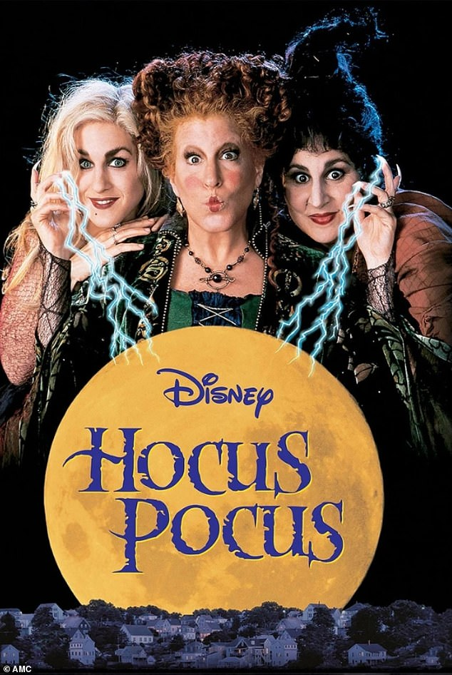 Cult classic: Hocus Pocus was released in 1993 and the comedy followed the Sanderson sisters who return from the dead to terrorize Salem, Massachusetts on Halloween