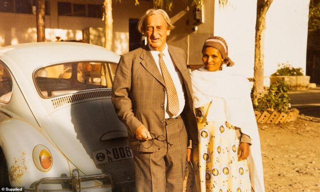Mamitu and Reg Hamlin in Addis Ababa, where she found her purpose curing women with fistulas after her own ordeal