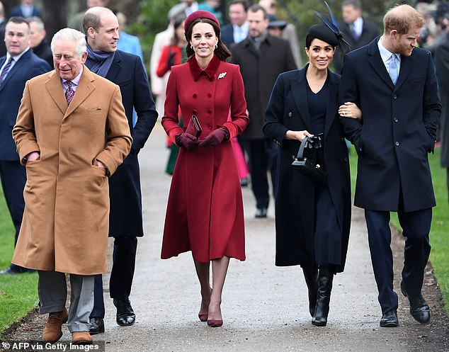 New tradition: The royal couple previously spent every Christmas from their engagement in 2017 at Queen's Sandringham Estate (pictured) until last year when they stayed in Canada