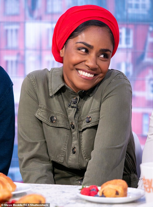 Rush of love:It comes after Nadiya admitted last year that she didn't feel the 'textbook rush of love' for her first child straight away