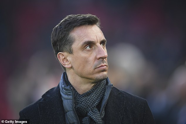 Gary Neville said Aguero should apologize publicly and criticize the striker's actions