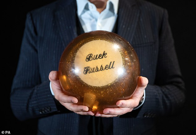 A steal: Buck Russell's bowling ball from the 1989 film Uncle Buck is up for £5-7,000