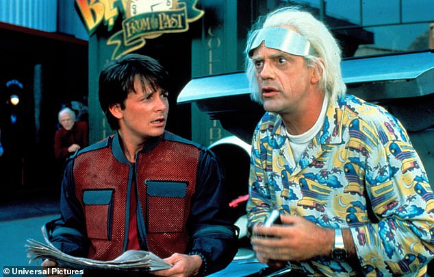 One of a kind: The lucky fan who gets hold of it will be able to cosplay Michael J. Fox in Back to the Future (1985)